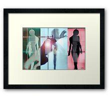 Body Language 7 Framed Print