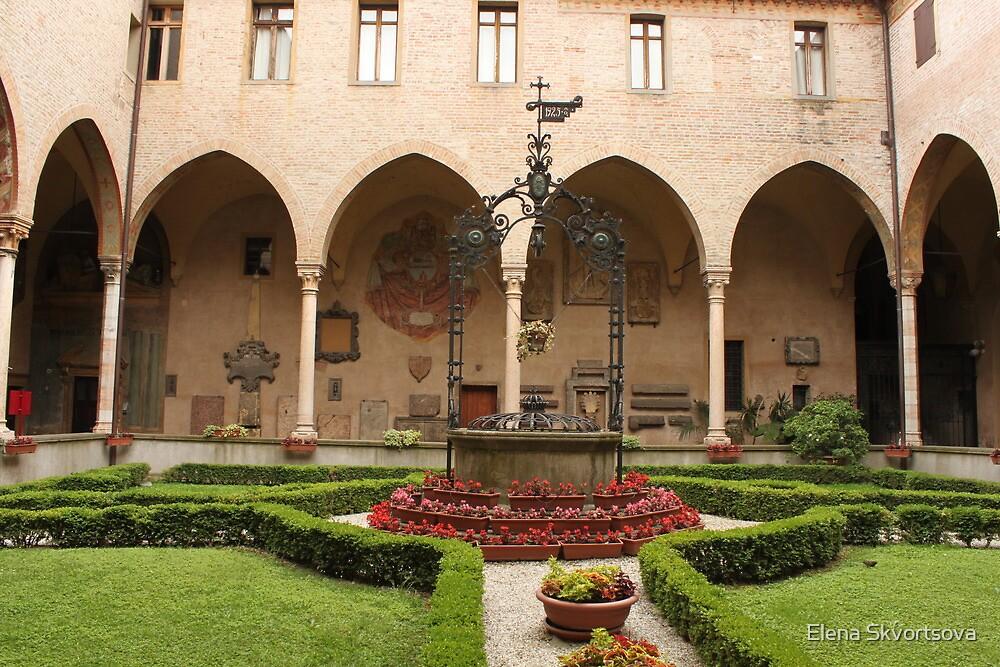 General's Courtyard, Basilica del Santo by Elena Skvortsova