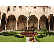 General's Courtyard, Basilica del Santo Photographic Print