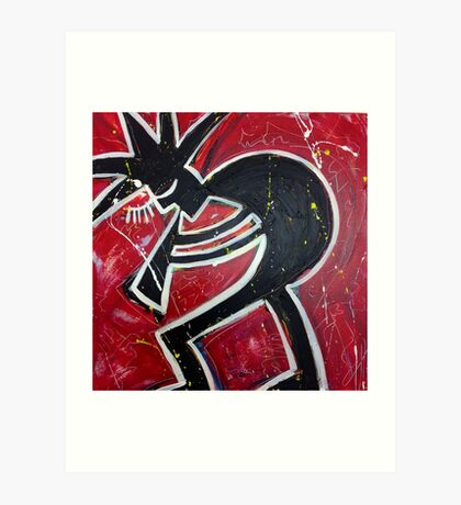 Blood, Sweat & Jazz Art Print