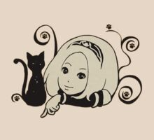gravity rush/daze shirt/sticker by Steelgear24