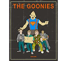 The Goonies - Brown Photographic Print