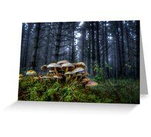 The Rat Pack ~ Wild Mushrooms ~ Greeting Card