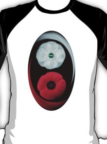 POPPIES ~ PEACE & REMEMBRANCE GO TOGETHER UNITED WE STAND TEE SHIRT T-Shirt
