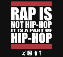 Rap Is Not Hip-Hop Kids Tee
