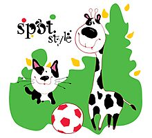 SpotStyle 3 Photographic Print