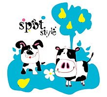 SpotStyle 2 Photographic Print