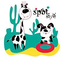 SpotStyle 5 Photographic Print