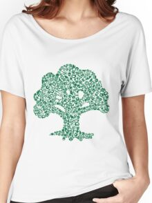 Forest Mosaic Women's Relaxed Fit T-Shirt