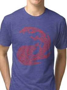 Mountain Mosaic Tri-blend T-Shirt