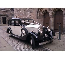 Vintage 1936 Rolls Royce 20/25 Front View Photographic Print