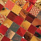 collagecard: Dark red by Sanne Thijs