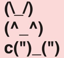 Adorable Text Bunny by timnock