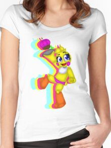 Toy Chica-Lets Party! Women's Fitted Scoop T-Shirt