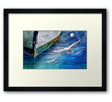 Coming home... Framed Print