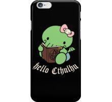 Hello Cthulhu iPhone Case/Skin