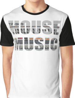 TR909 House Music Graphic T-Shirt