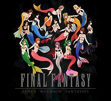 Mermaid Fantasy by coffeewatson