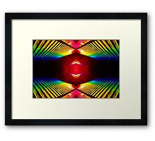 Colorism Framed Print