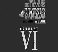 YMAS - We Are Believers by saturrrday