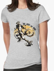 Mud Sweat & Gears Cyclocross  Womens Fitted T-Shirt