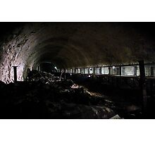 Inside the tunnels of Dora Photographic Print