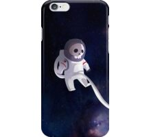 Cute Dead Astronaut iPhone Case/Skin