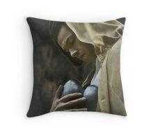 Prayer For The Frail Throw Pillow