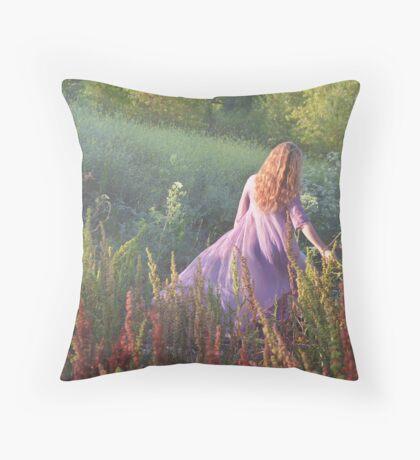Katie's World #1 Throw Pillow