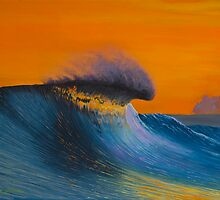 The Shining - Surf art painting by ecosurfart