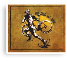Mud Sweat & Gears Cyclocross  Canvas Print