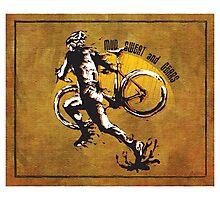 Mud Sweat & Gears Cyclocross  Photographic Print