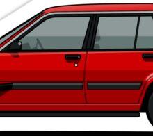 Jesse Pinkman's Crappy Red Toyota Tercel SR5 4WD Wagon AL25 Sticker
