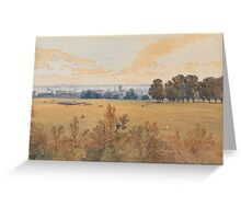 John Absolon  A Review in Hyde Park Greeting Card