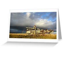 Prairie Past Greeting Card
