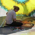 artwork and artist I - arte y artista by Bernhard Matejka
