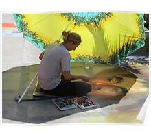 artwork and artist I - arte y artista Poster