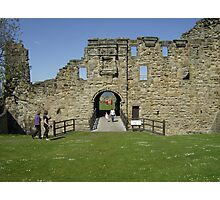 Entrance to St Andrews Castle Photographic Print