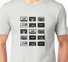 Audio Cassette Tapes (Black) Unisex T-Shirt