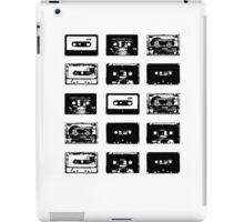 Audio Cassette Tapes (Black) iPad Case/Skin