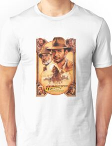 Indiana Jones and The Last Crusade Movie Poster Unisex T-Shirt