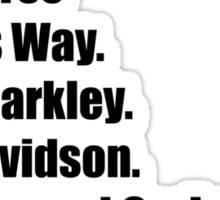 CARLY DAVIDSON Sticker