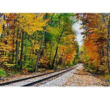 Painted Railway Photographic Print