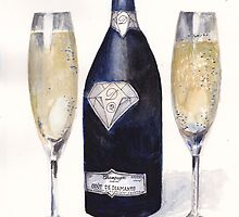 The Most Expensive Champagne in the World by Dai Wynn