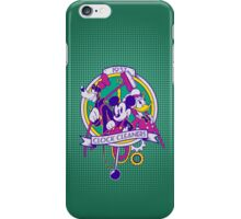 Mickey and Co. - Clock Cleaners iPhone Case/Skin