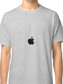 Simplistic Apple Branding Classic T-Shirt