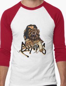 Boston Bruins  Men's Baseball ¾ T-Shirt