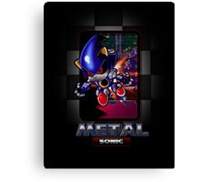 Metal Sonic Canvas Print