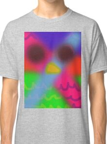 psychedelic owl  Classic T-Shirt