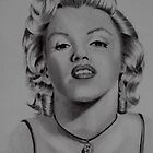 'MARILYN MONROE' by jansimpressions